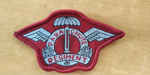 Military woven labels