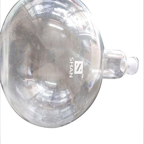 Single Neck Round Bottom Glass Flask