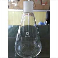 Laboratory Blown Stopper Flask