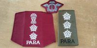 Army woven labels
