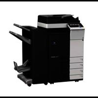 Konica Minolta Bizhub C308 Colour Photocopier machine with Original cover