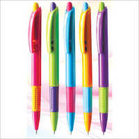 Colored Click Ball Pens