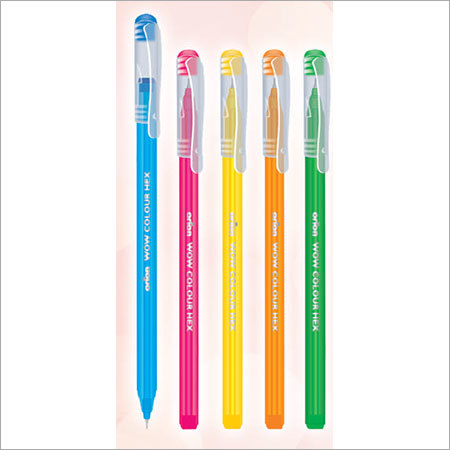 Wow Colour Hex DF Ball Pen