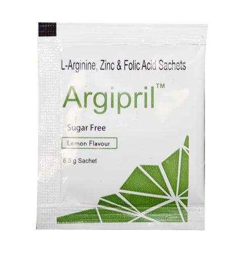 Argl Ful - L-Arginine, Zinc And Folic Acid Sachets Certifications: Fssai Gmp Iso22000