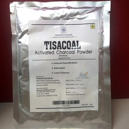 Activated Charcoal Sachet Certifications: Fssai Gmp Iso22000