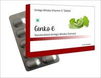 Ginkgo Biloba Vitamin E Tablet
