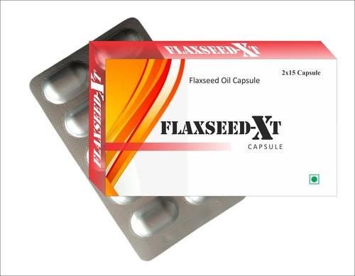 Flaxseed Oil Capsule