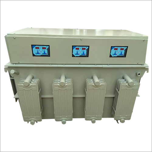 Three Phase Oil Cool Digital Servo Voltage Stabilizer
