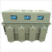 Three Phase Oil Cool Digital Servo Voltage Stabilizer