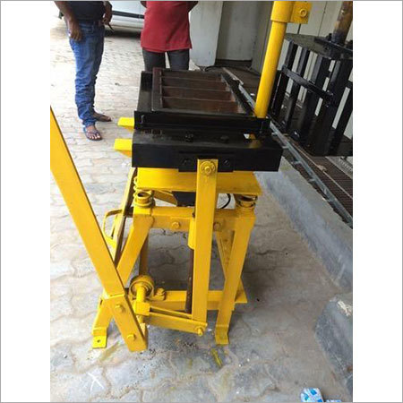 Manual Concrete Bricks Making Machine