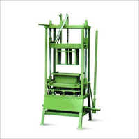 Manually Operated Concrete Block Making Machine LPNM10
