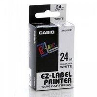 24mm Black on white Casio Tape(G27)