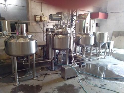 Cream/lotion manufacturing plant