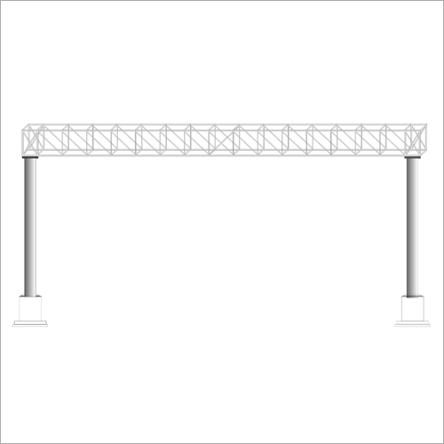 Overhead Gantry Signage Iron Structure