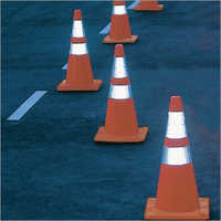 Reflective Stripe Traffic Cones
