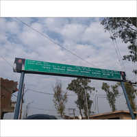 Overhead Gantry Signage Board