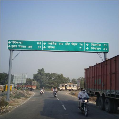 Highway Overhead Gantry Signage Board