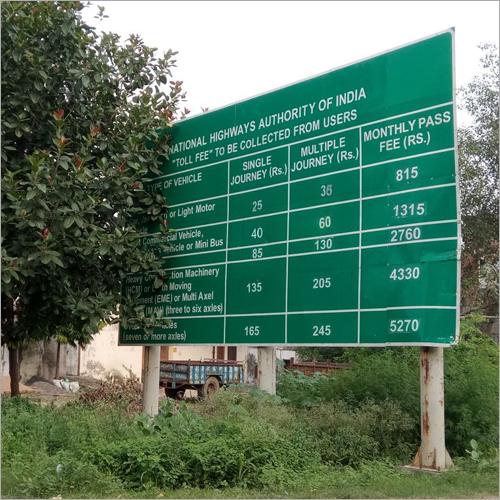 Cantilever Signage Board