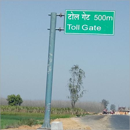 Highway Cantilever Signage Board