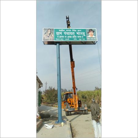 Aluminum Cantilever Signage Board