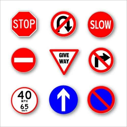Traffic Rules Mandatory Sign Boards