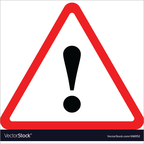 Triangular Warning  Signage