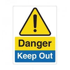 Hazard Precaution Signage