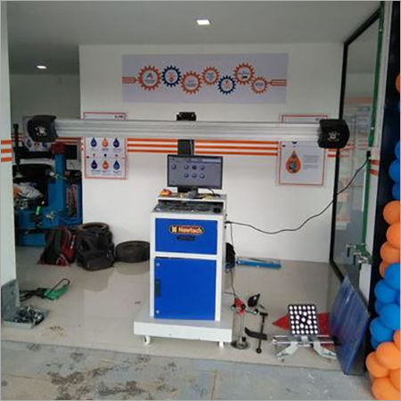 Bluetooth Wheel Alignment