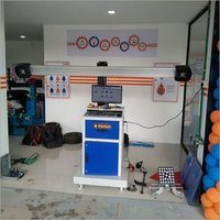 Bluetooth Wheel Aligner Machine
