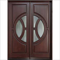Teak Wood DoubleEntry Door