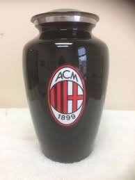 Soccer Sport Adult Funeral Memorial Cremation Urn