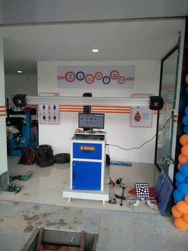 Automatic 3D Wheel Alignment Machine