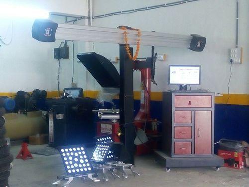 4D Wheel Alignment Machine