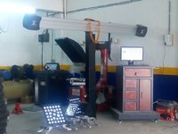 4D Wheel Alignment Machine