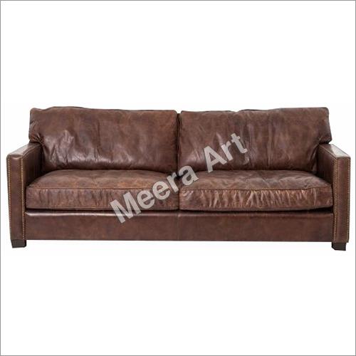 Double sheet Leather Sofa
