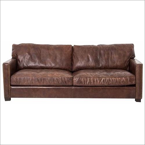 Double sheet Leather Sofa