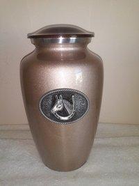 Sport Large Handmade Solid Metal Urn