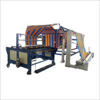 Green Shade Net Four Fold Plating Machine