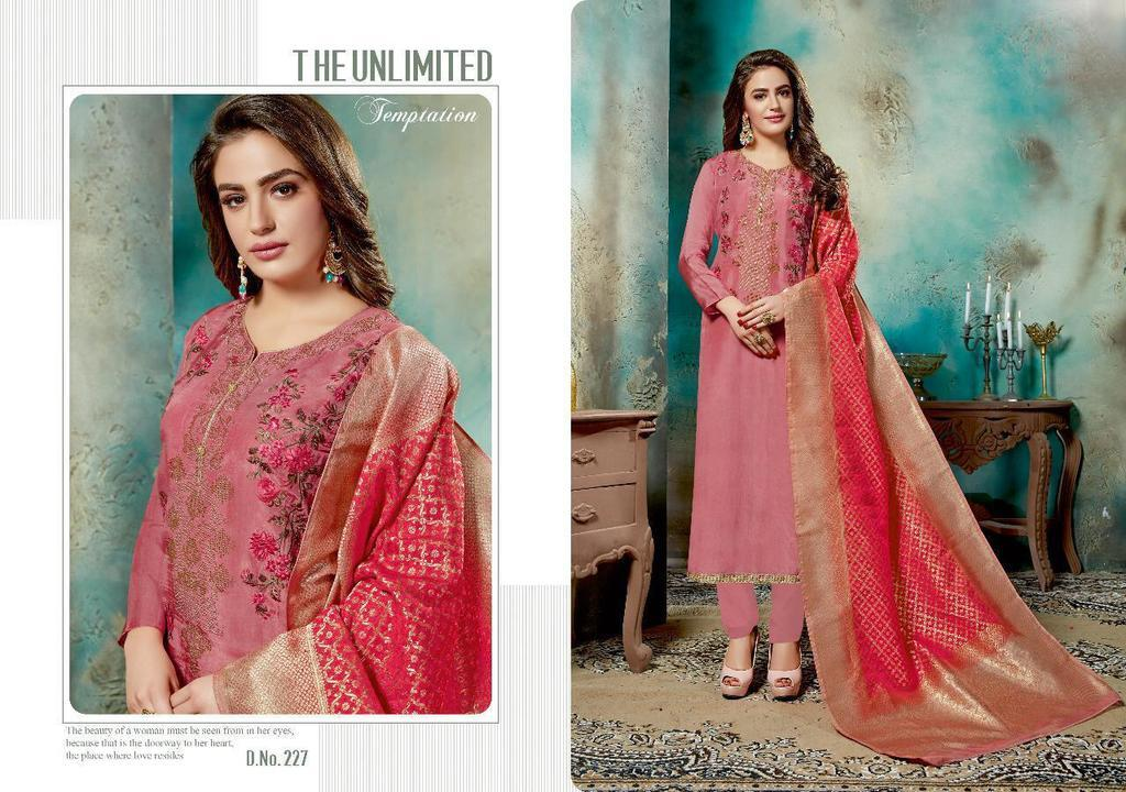 Embroidery Work Silk Suits