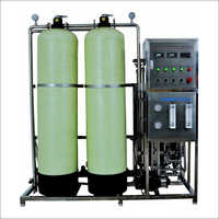 POrtable Water Softener Plant