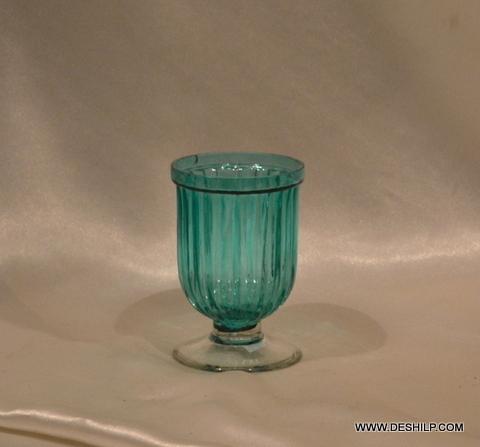 MINI GLASS CANDLE HURRICANE