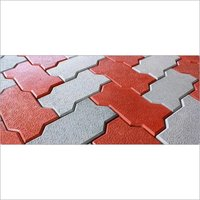Zig Zag Floor Interlocking Paver