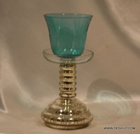 COLORFUL PILLAR GLASS CANDLE VOTIVE