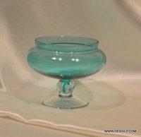 COLOR GLASS FRUIT BOWL