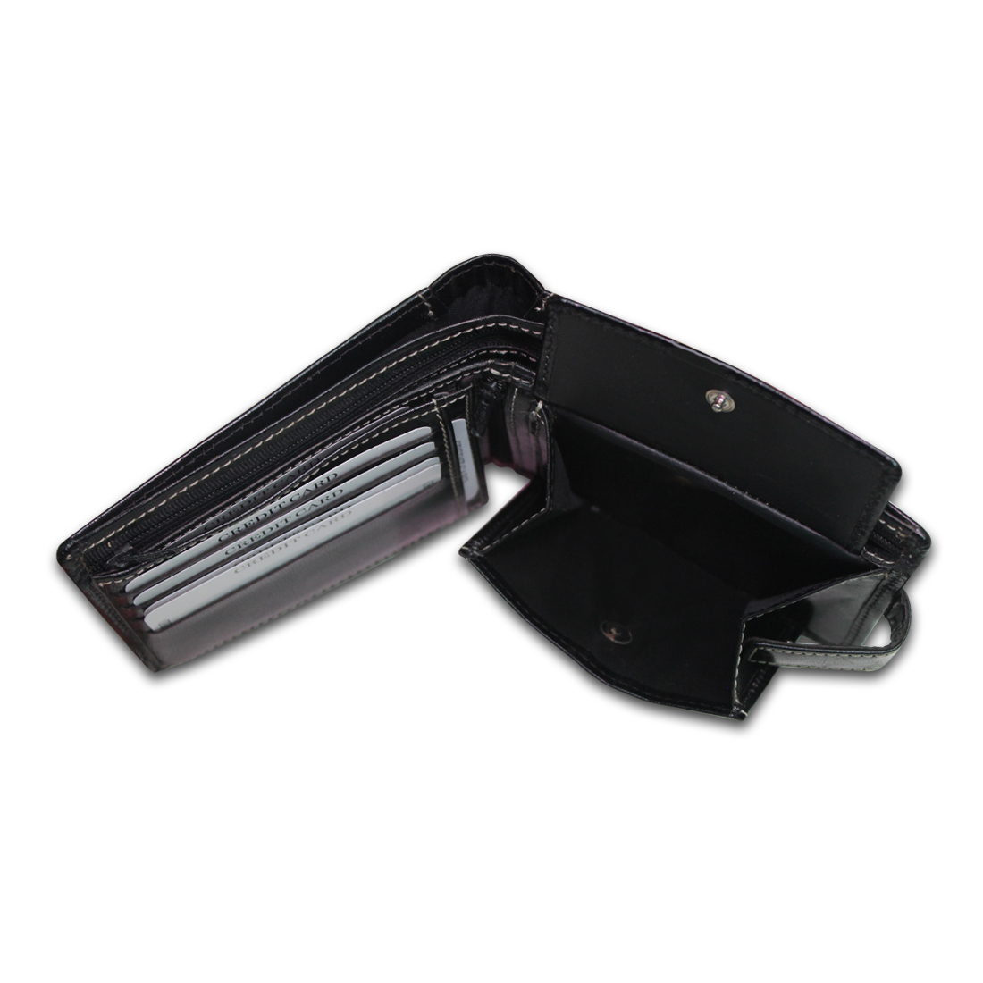 Men RFID Leather Bifold Wallet