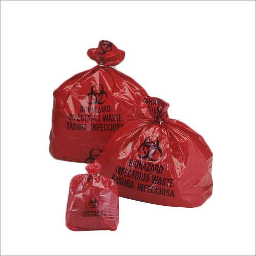 Plastic Biohazard Bags