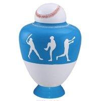 Big League Light Blue Cremation Urn