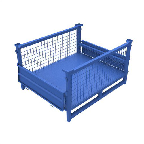 Double Sided Door Mesh Cage Bin
