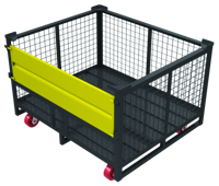 Cage Bin with Castor