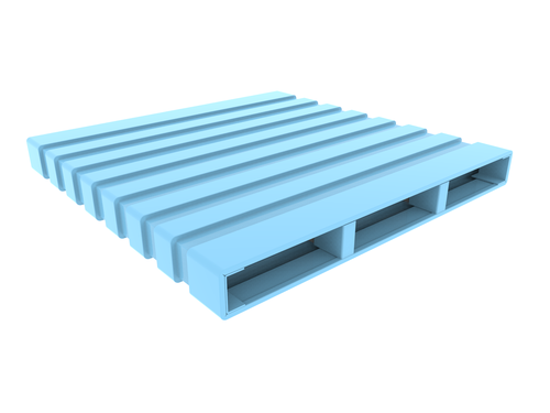 Steel Pallet - Double Deck